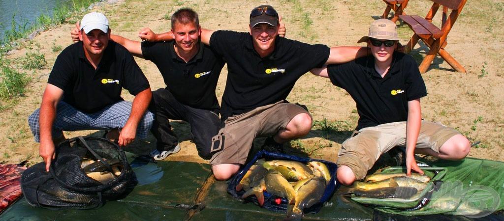 Ritka jó horgászat volt ezen a napon!