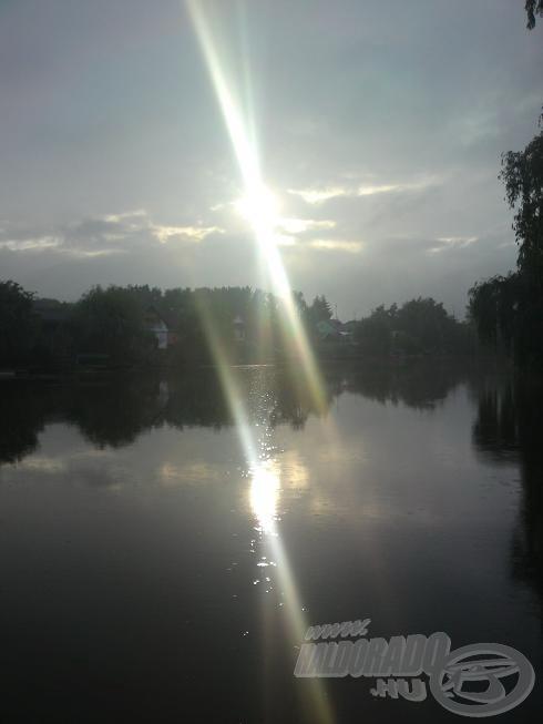 Így néz ki itt a napfelkelte