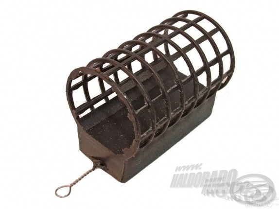 Open-ended groundbait swimfeeder - nyitott végű etetőkosár