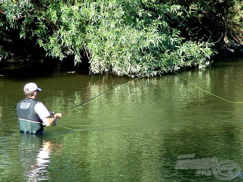 Fly fisher - legyezőhorgász