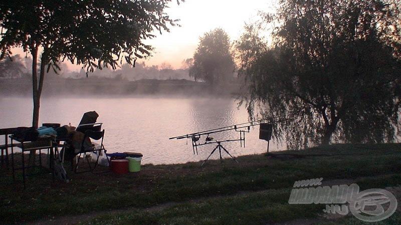 Hideg és párás őszi hajnal, vége a nyári reggeleknek