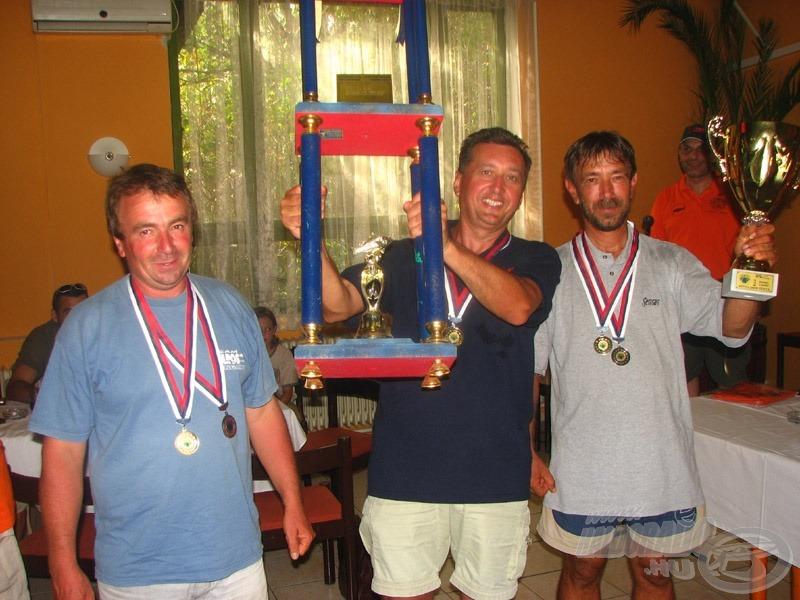 … és a Tubertini-Maros Mix-Cralusso, a 29. Zenta-kupa bajnoka