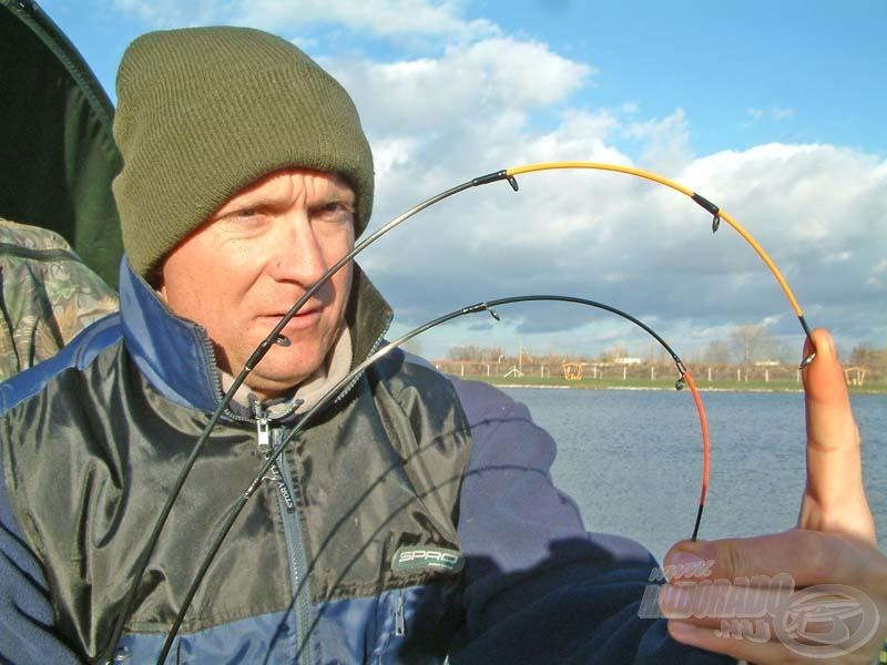 A kora tavaszi horgászatok során, a legérzékenyebb spicceket illesszük a feeder- és pickerbotunk végébe