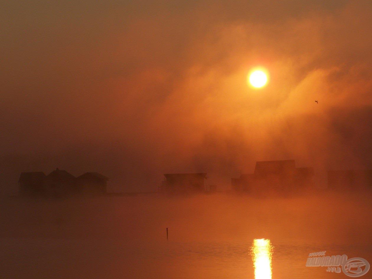 Az elérhetetlennek tűnő távolság nap felkeltében