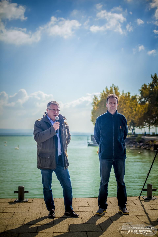 Az NBBH versenyeket többek között Szári Zsolt, a Balatoni Halgazdálkodási Nonprofit Zrt. vezérigazgatója is pártfogolja
