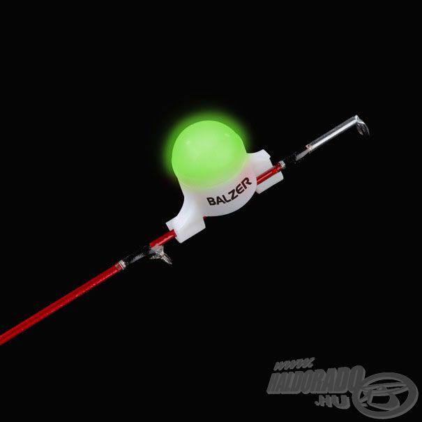 Feederspicc-világító kapásjelző