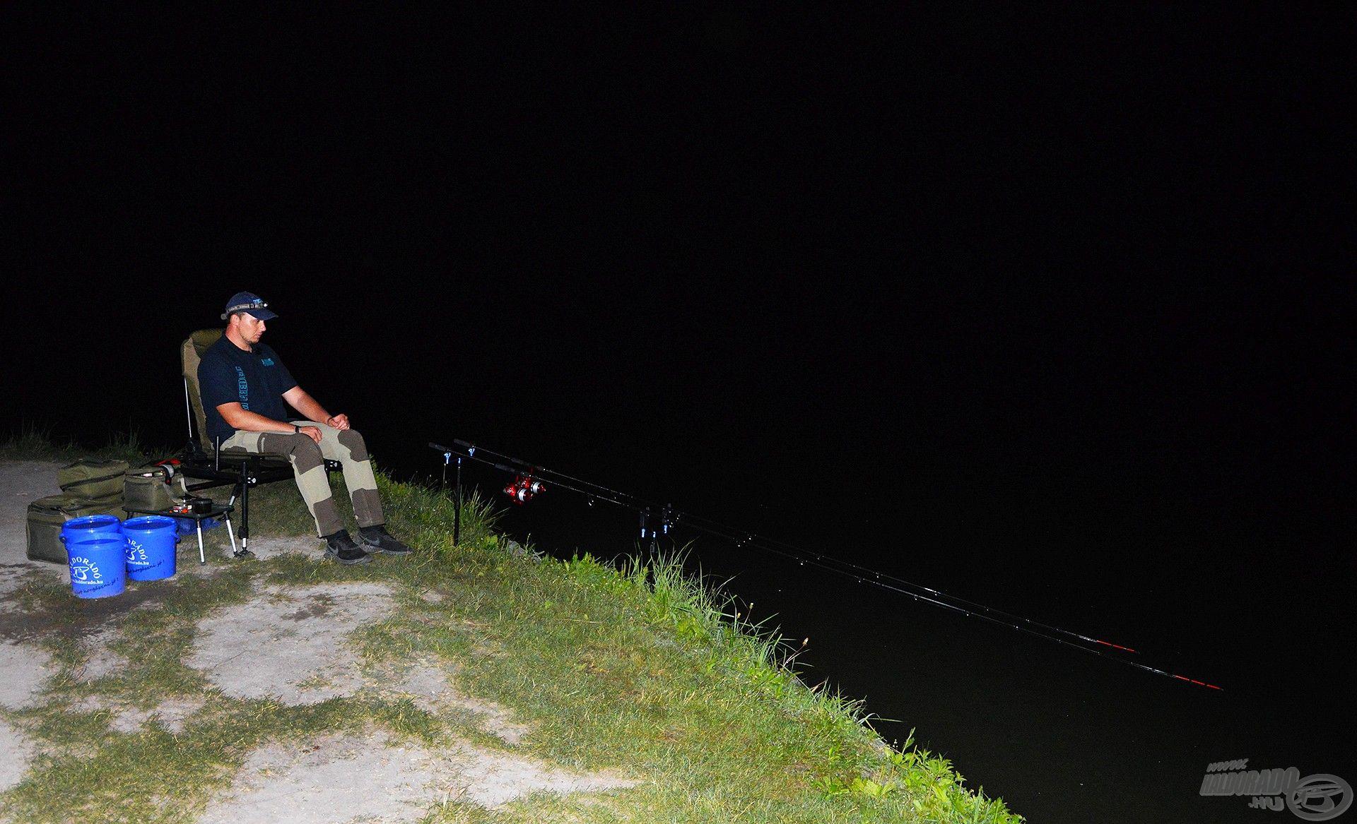 Gyakran horgászom éjszaka és nem ritkán több napot is a vízparton töltök…