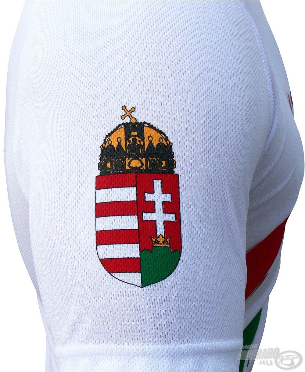 Itt kapott helyet a magyar címer