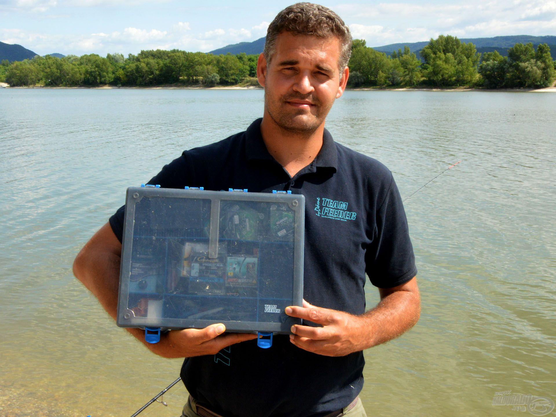 Vízparti tartózkodásunkat nagyban megkönnyíti ez a szuper rendszerező doboz