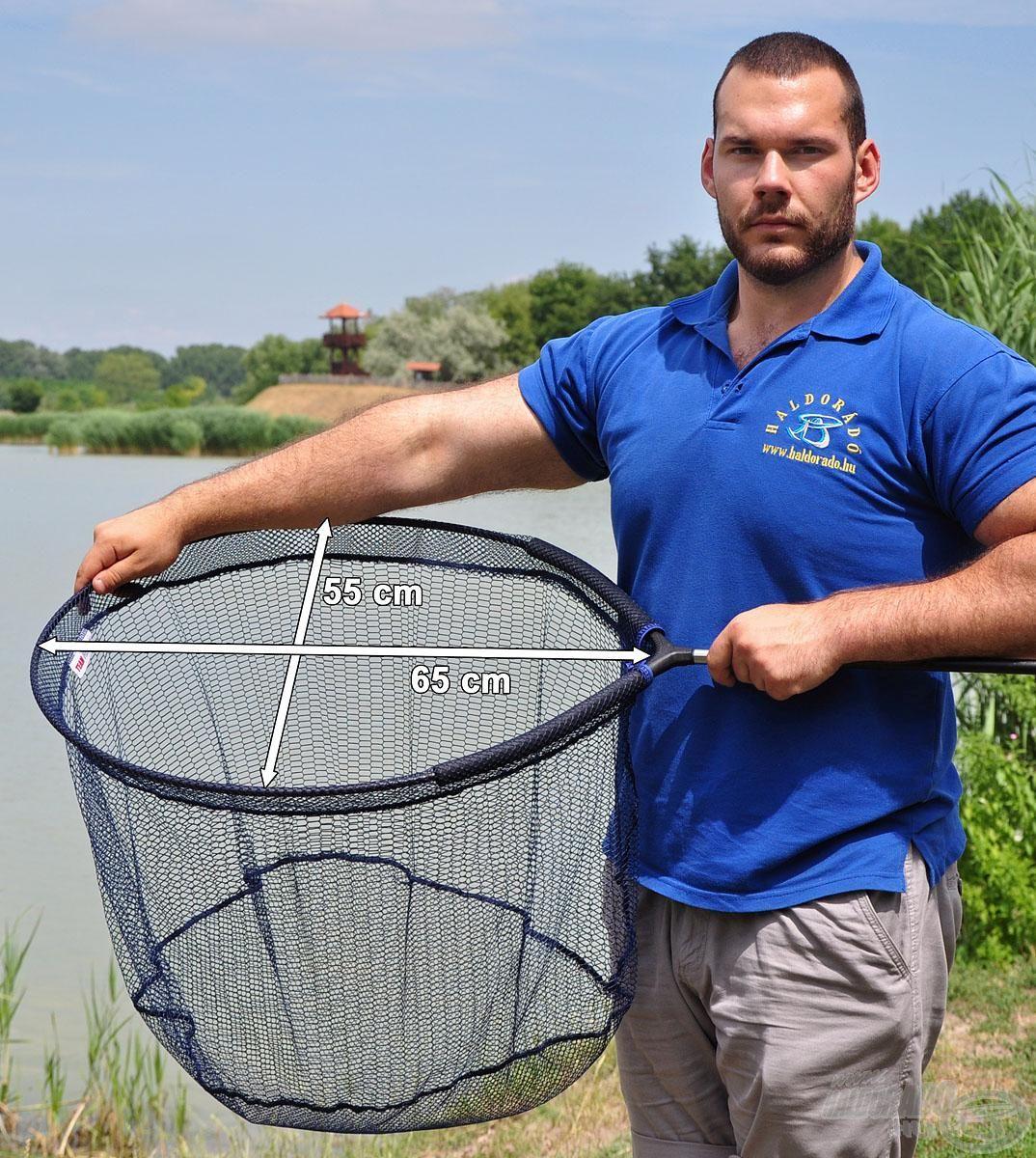 A CARP-4 fej kialakítása elég széles és mély ahhoz, hogy egy nyugtalan, nagyobb testű halat is biztonságosan megtartson!