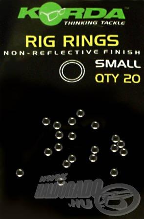 Egy csomag 20 db előkegyűrűt tartalmaz