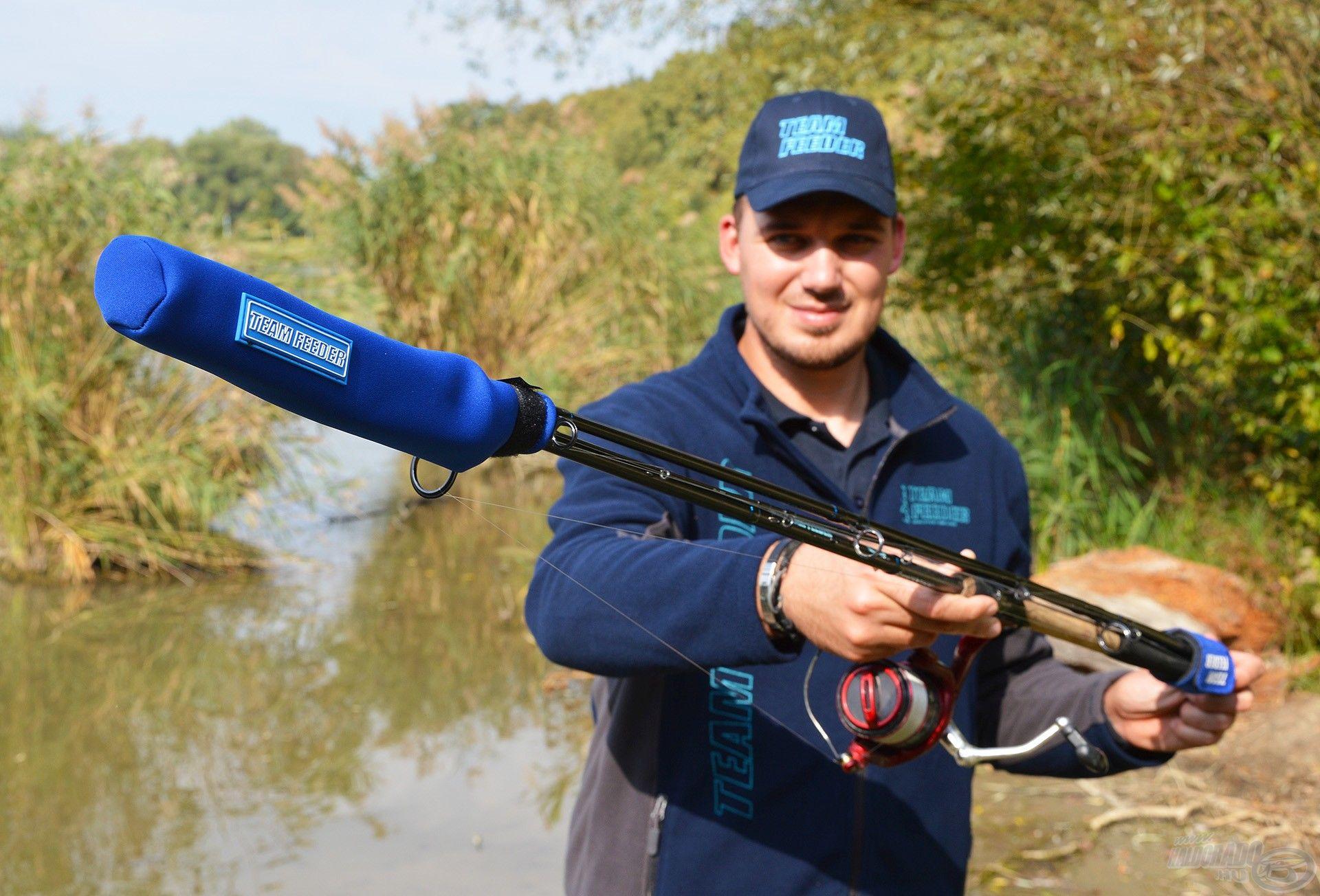 Ez a védőeszköz a feederbotjaink legérzékenyebb részét óvja