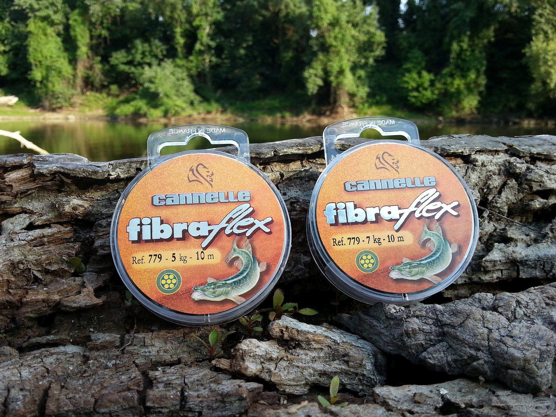 A Fibraflex előke speciális kevlár bevonattal van ellátva, mely természetes zöld színének köszönhetően beleolvad a víz alatti környezetbe, így a legóvatosabb csuka sem fog gyanút