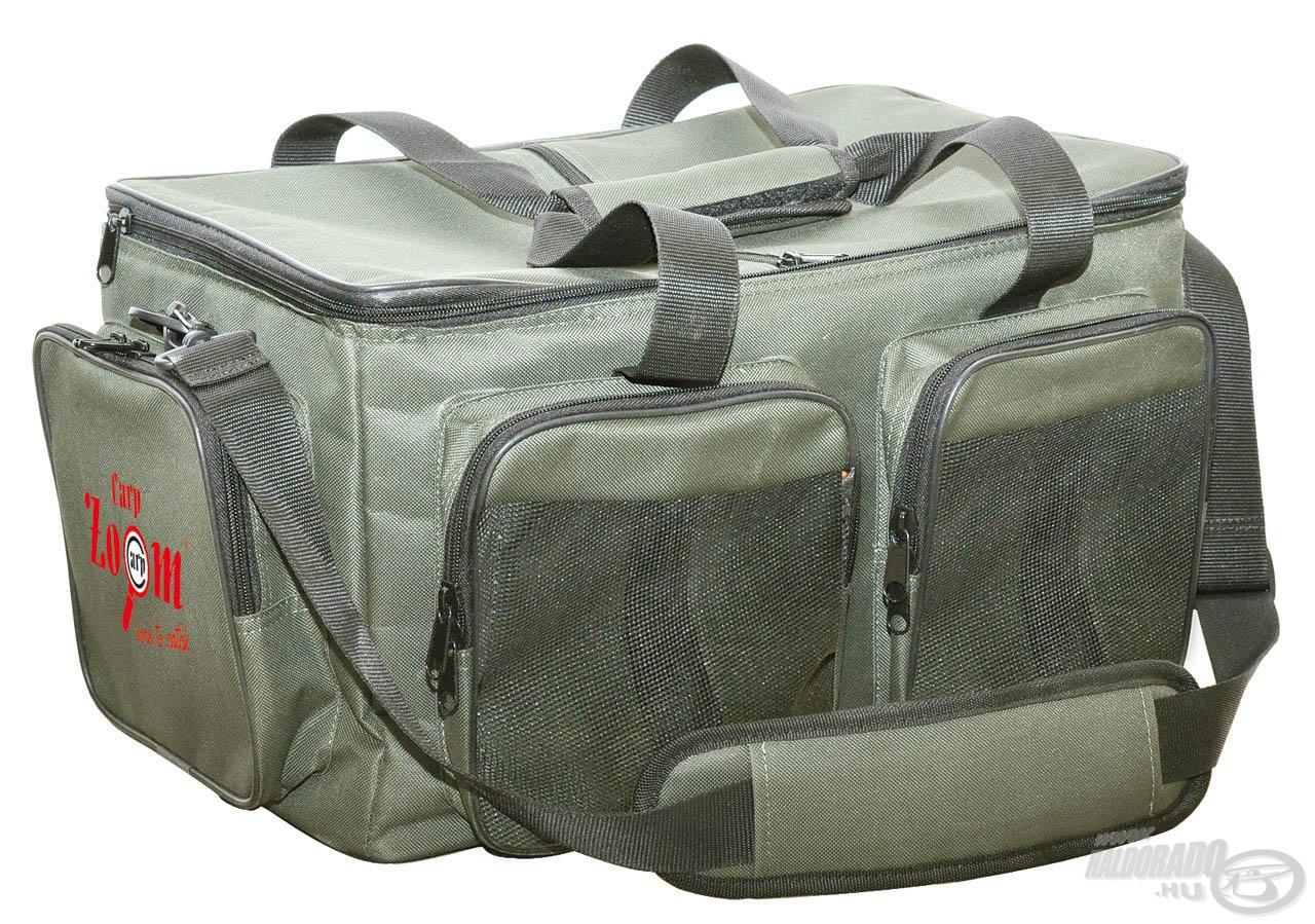 Ebbe a sokrétűen használható táskába a legtöbb aprócikkünk belefér