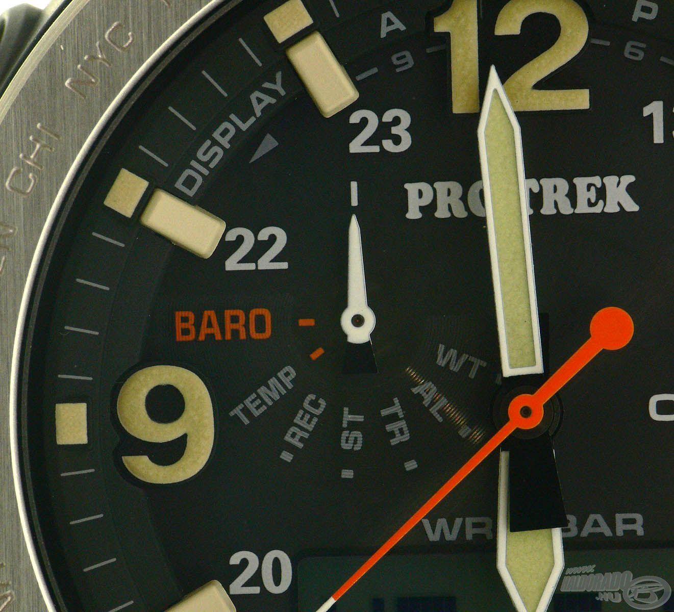 Számos hasznos funkció található az órákban, melyek közül a segédszámlapokon választhatjuk ki a számunkra éppen szükségeset