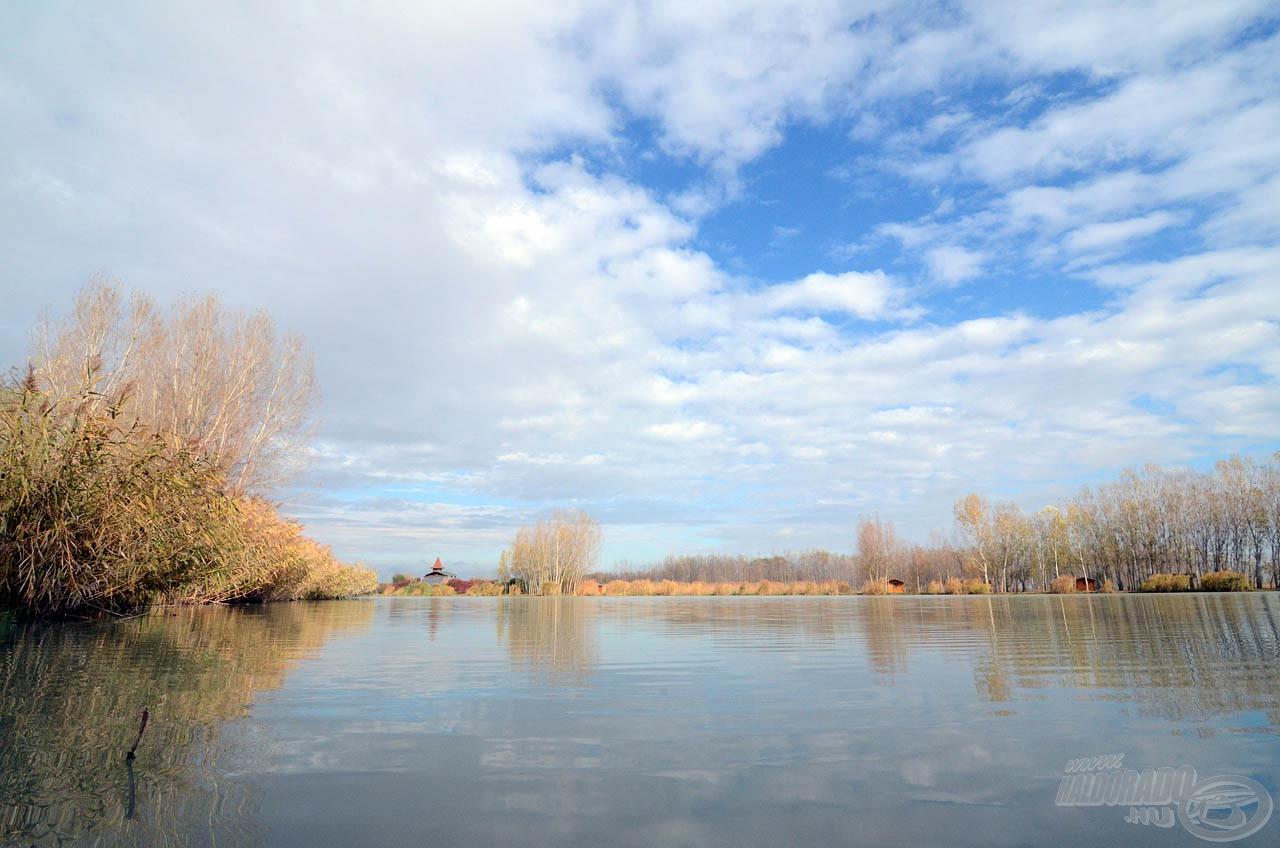 Hangulatos őszi időjárás fogadott bennünket a horgászat reggelén