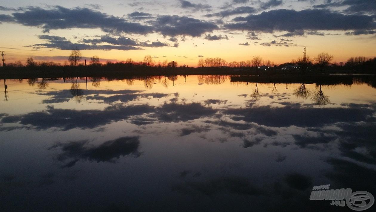 Az Orosi-tó pár órával a téli álom előtt… Tavasszal újra próbálkozunk!