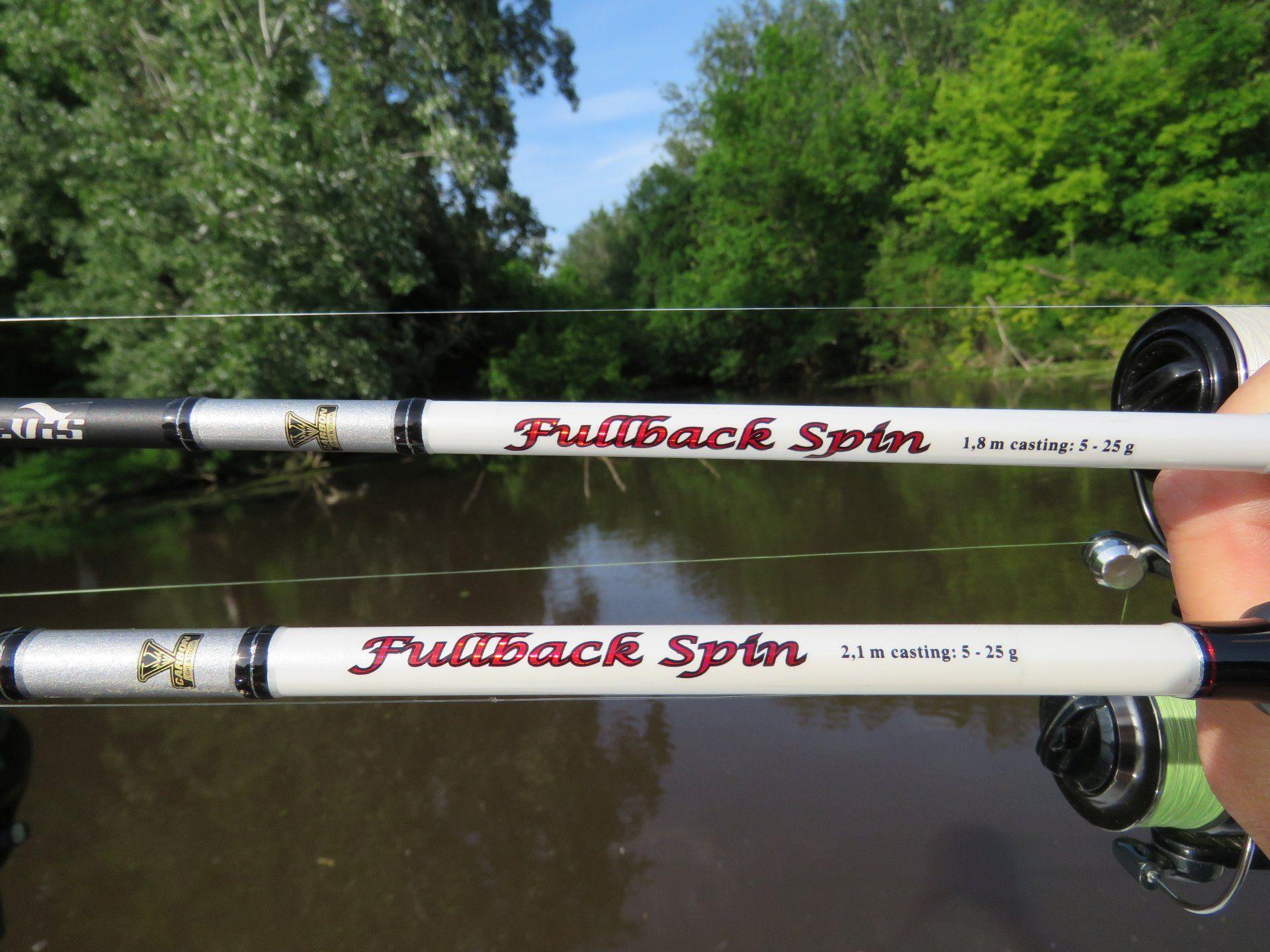 A nyári balinozások alkalmával már bizonyított Fullback Spin botokat nagyon megszerettem