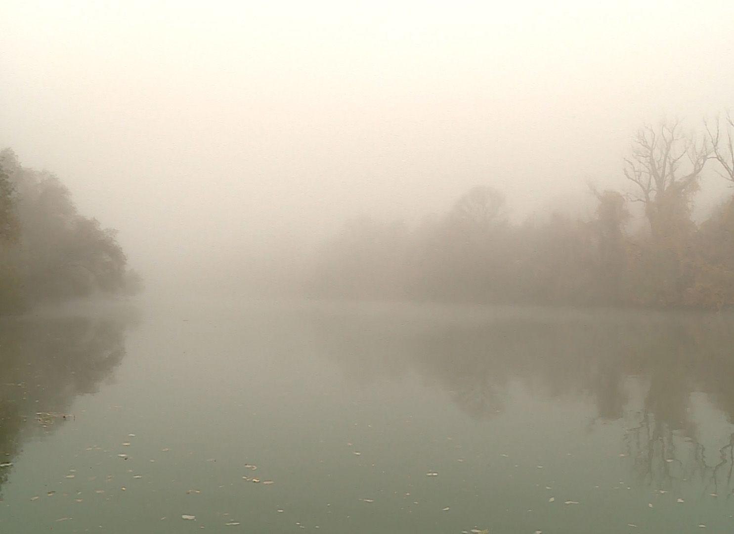 Ködös őszi reggel – igazi csukázó idő!
