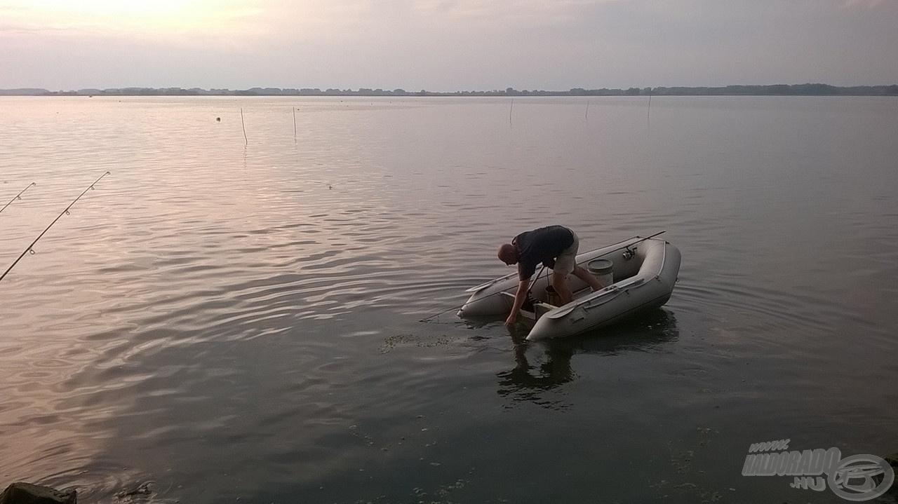 … nem volt egyszerű a vízen közlekedni