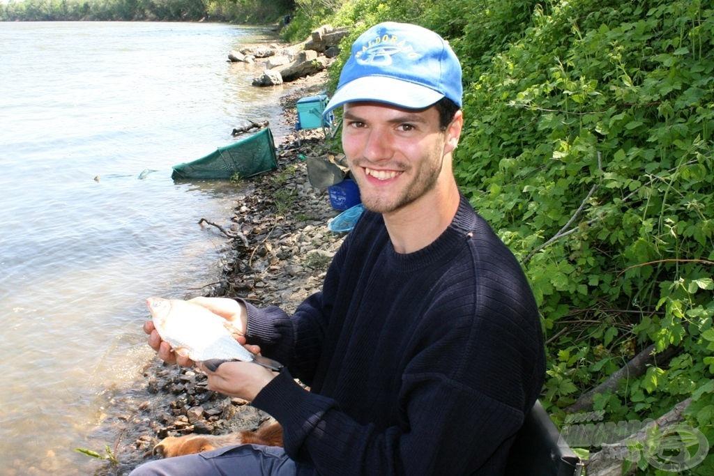 Első halam Szerbiából