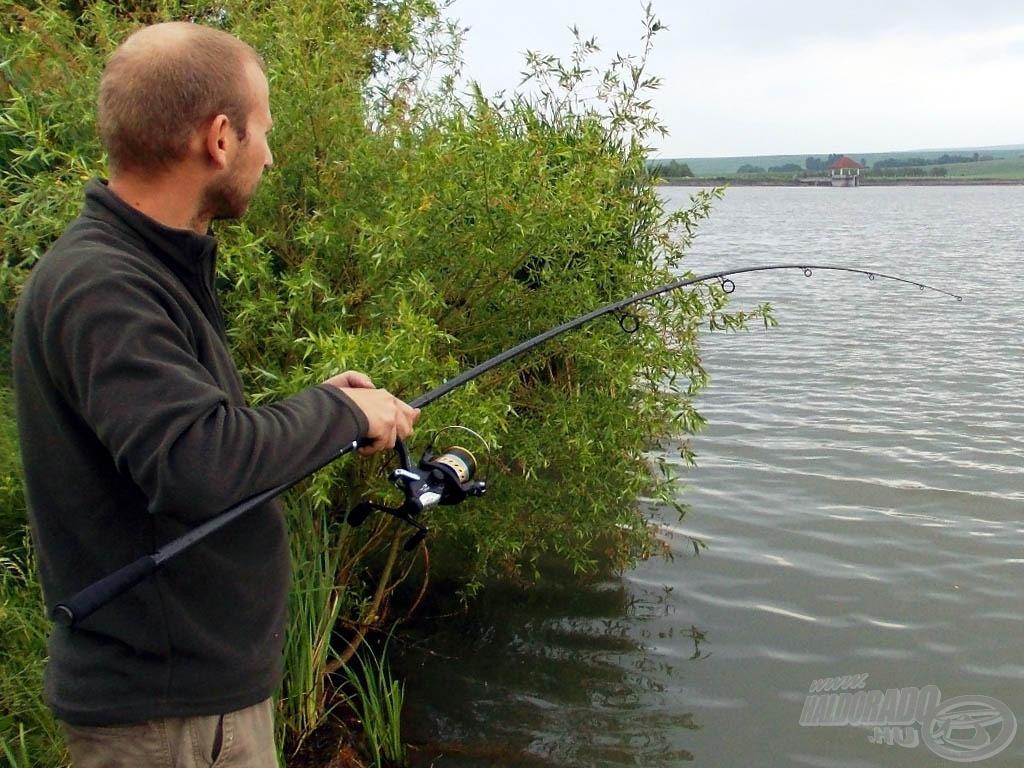 Egy 10 kilón felüli hal fárasztása mindig óriási élmény