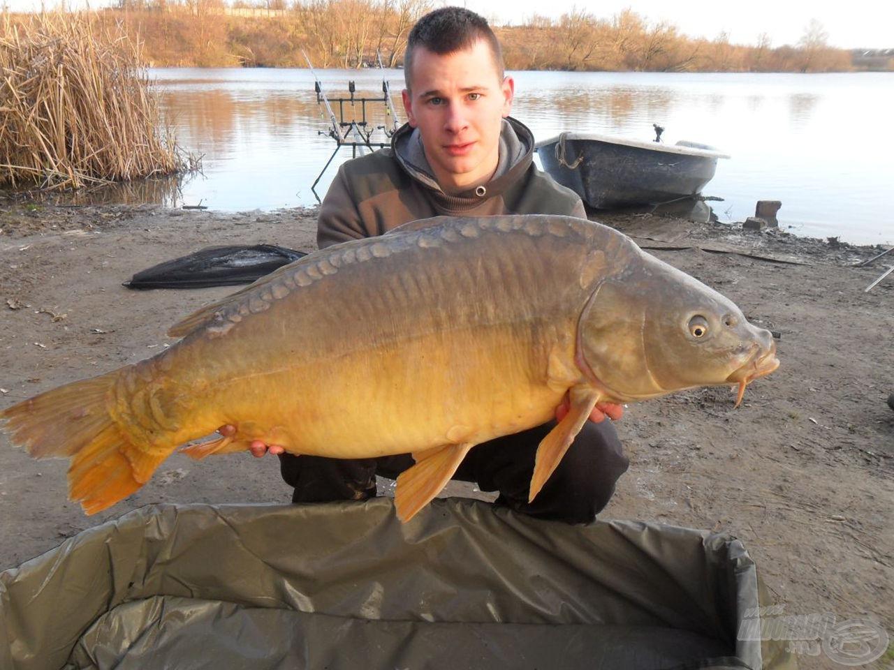 Szinte hihetetlen, de az első halam 19,56 kg-ot nyomott