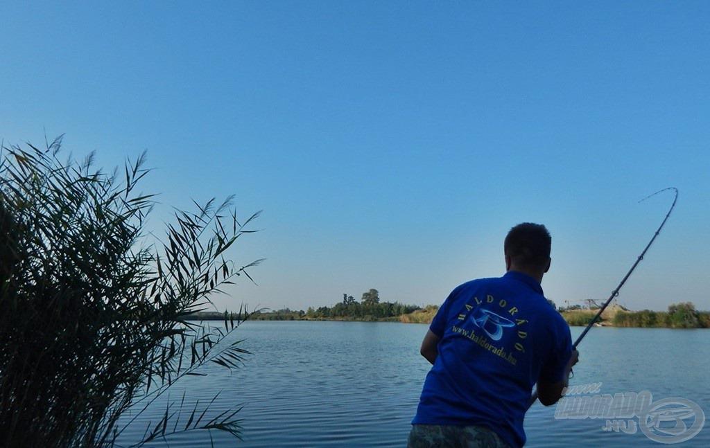 Ha mindent jól csinálunk, hamarosan kezdődhet a horgászat egyik legszebb része, a fárasztás