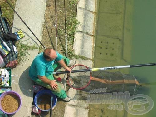 Igazi horgászcsemege a dévérezés (Bega-tó)