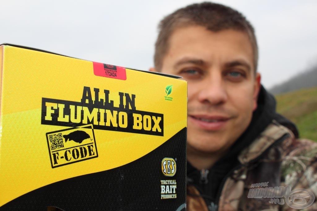 Az All in Flumino Box mindent tartalmaz, amely egy egynapos horgászathoz kell!