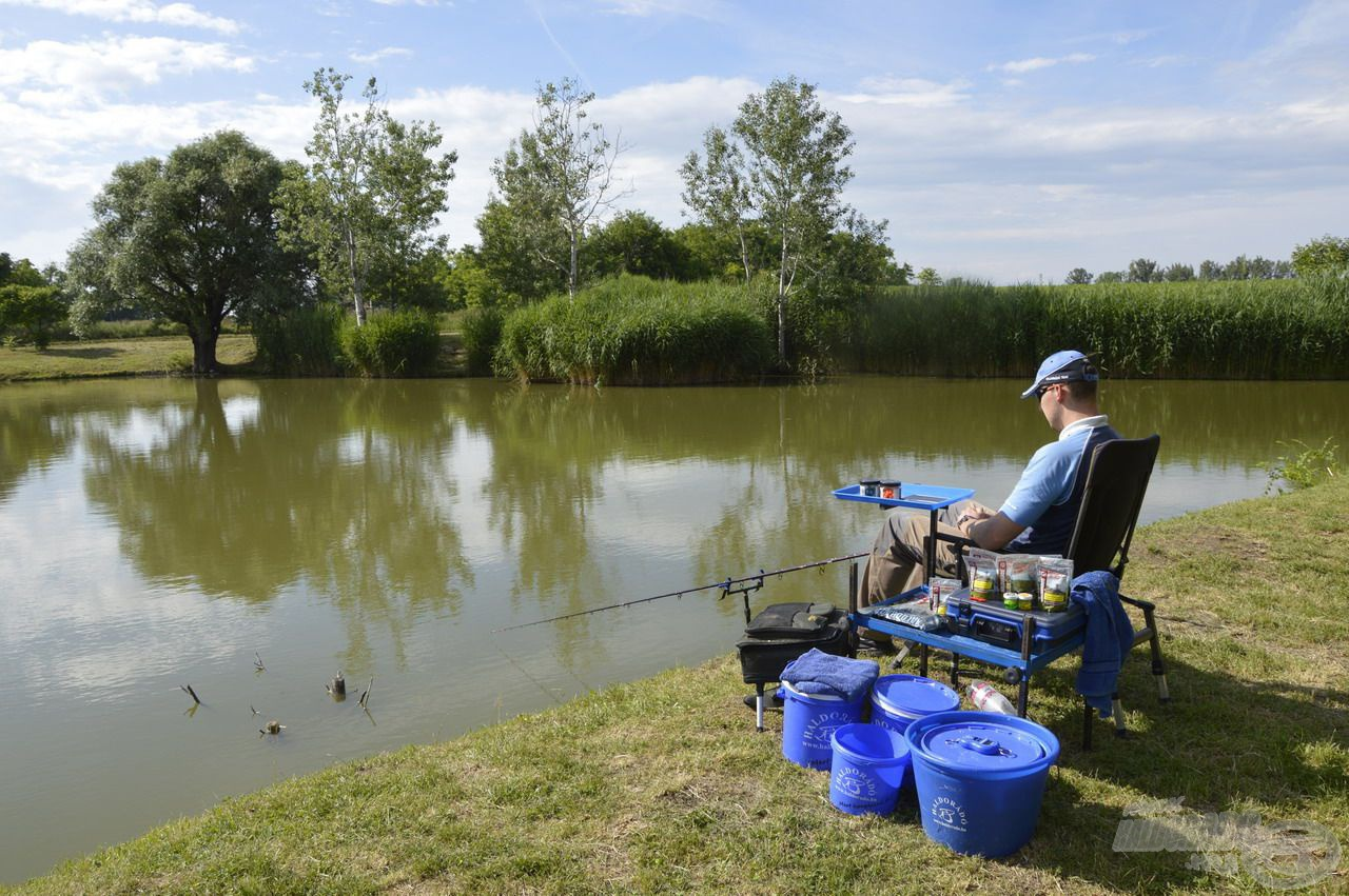 A déli-délutáni órákra gyönyörű, napsütéses időben horgászhattam
