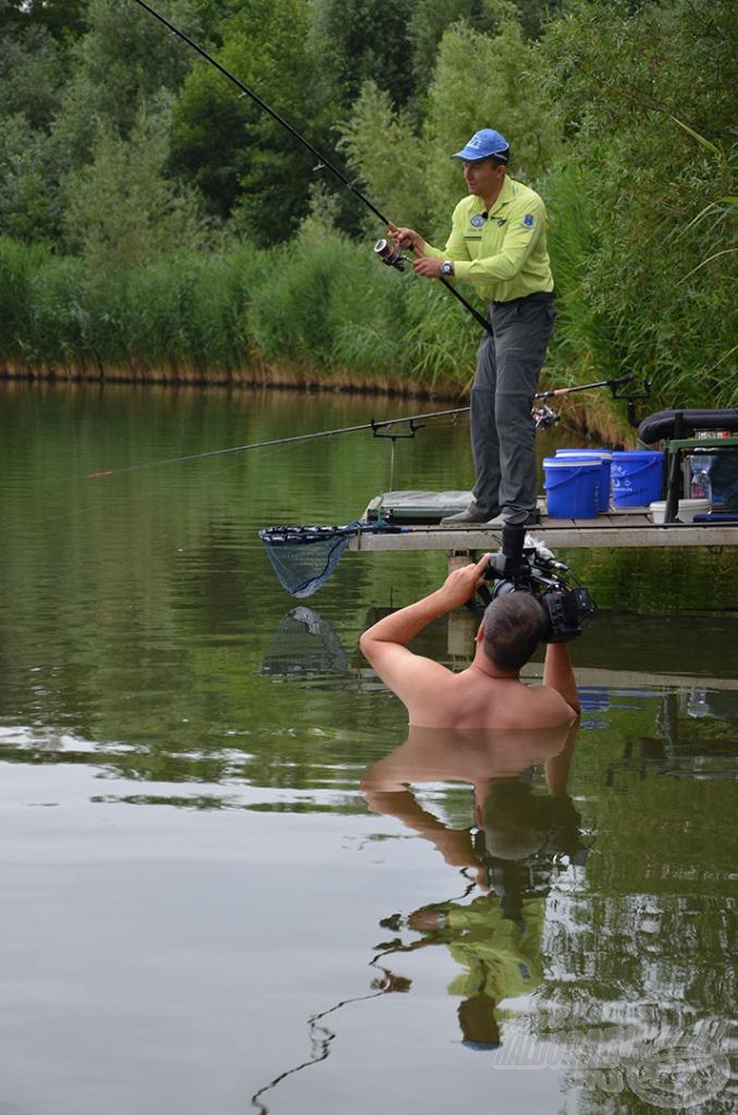 A horgászat minden izgalmas pillanatát megörökítettük