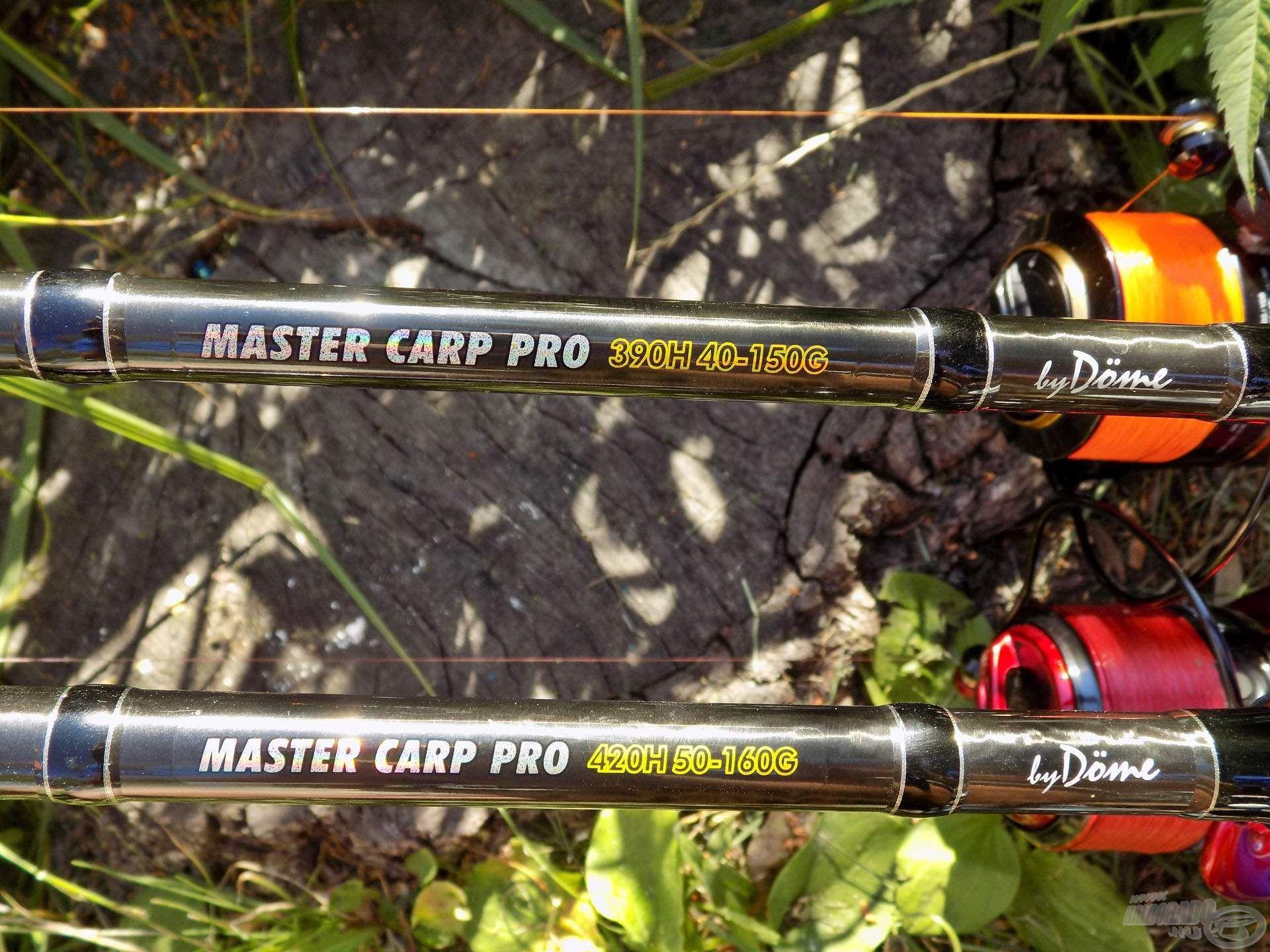 """Sokadik nagyhalas horgászatomra hoztam magammal a Master Carp Pro """"H"""" karakterisztikájú botjait. Használatukkal akár a legnagyobb pontyok, amurok is nagy biztonsággal megfoghatók"""