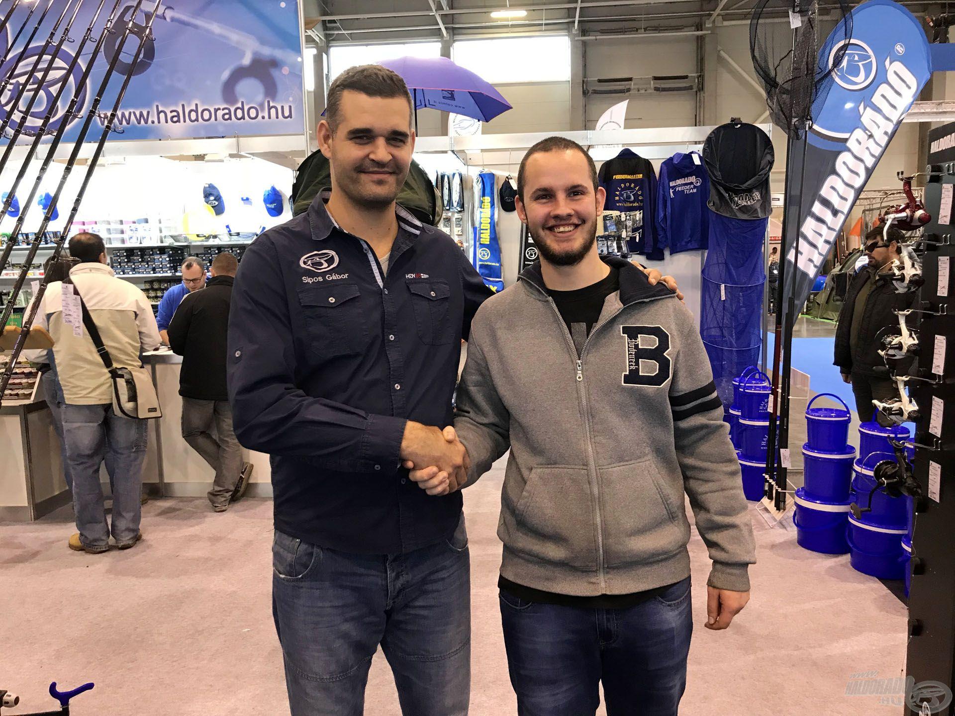 Nagy öröm volt találkozni azokkal a horgásztársakkal, akik nyomon követik munkásságomat