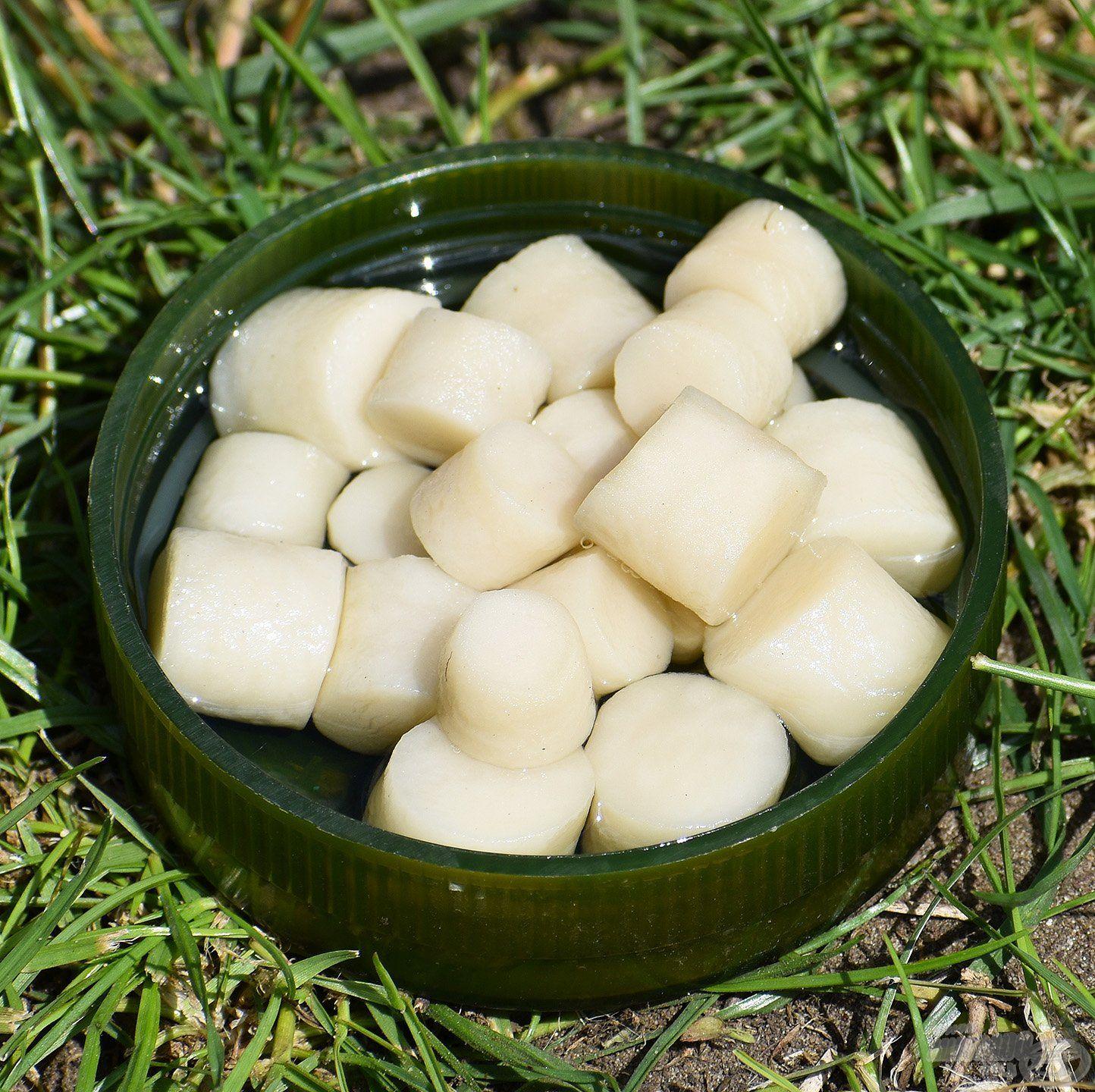 FermentX Natural Bait - Tejsavas Betainos fehér színnel és karakteres, savanykás ízzel, illattal