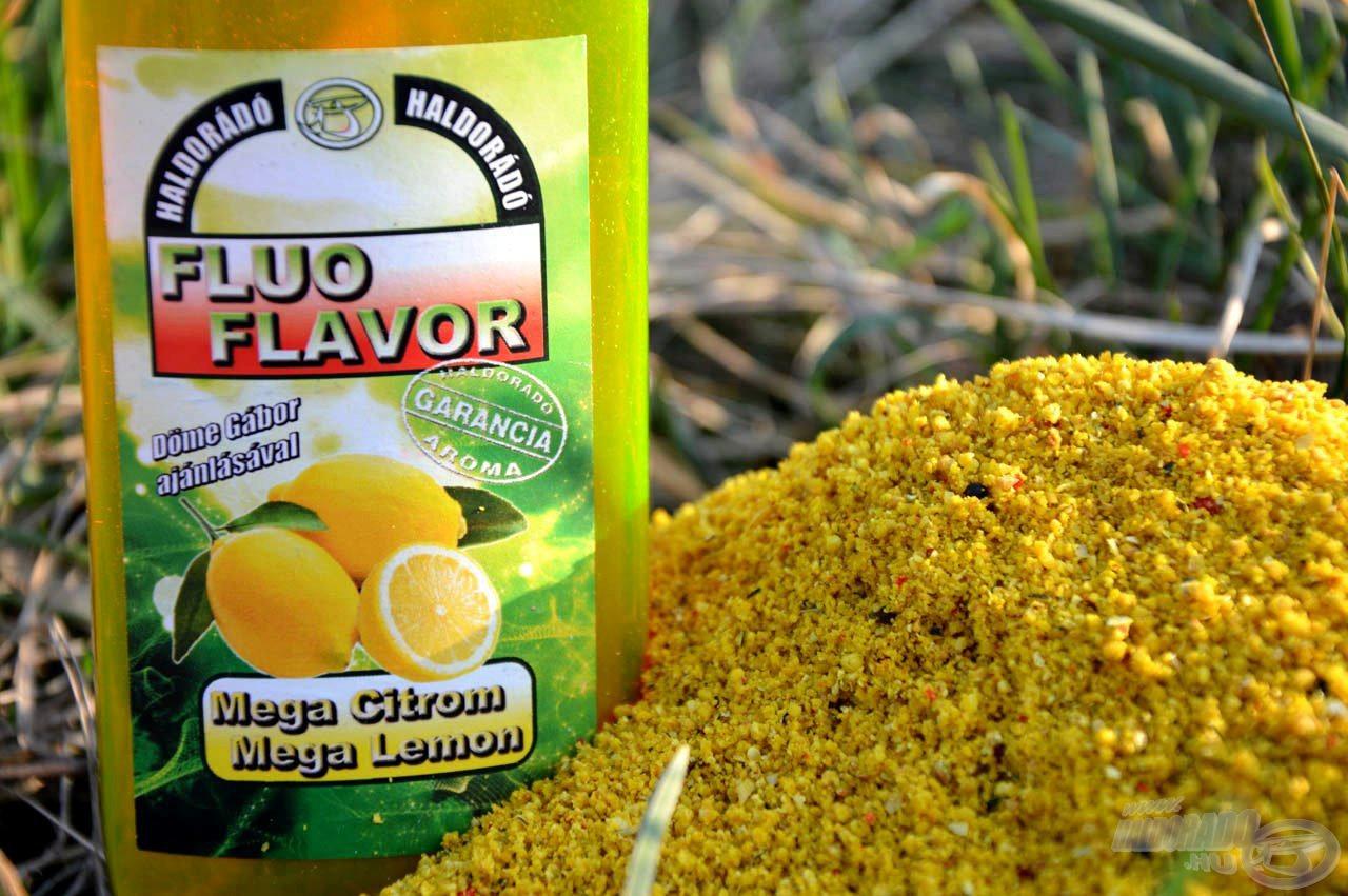 Az etetőanyagot kevés Fluo Flavor aromával tudjuk még ízesebbé és persze látványosabbá tenni