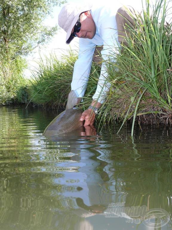 A halak tisztelete és a kíméletes bánásmód a legfontosabb!