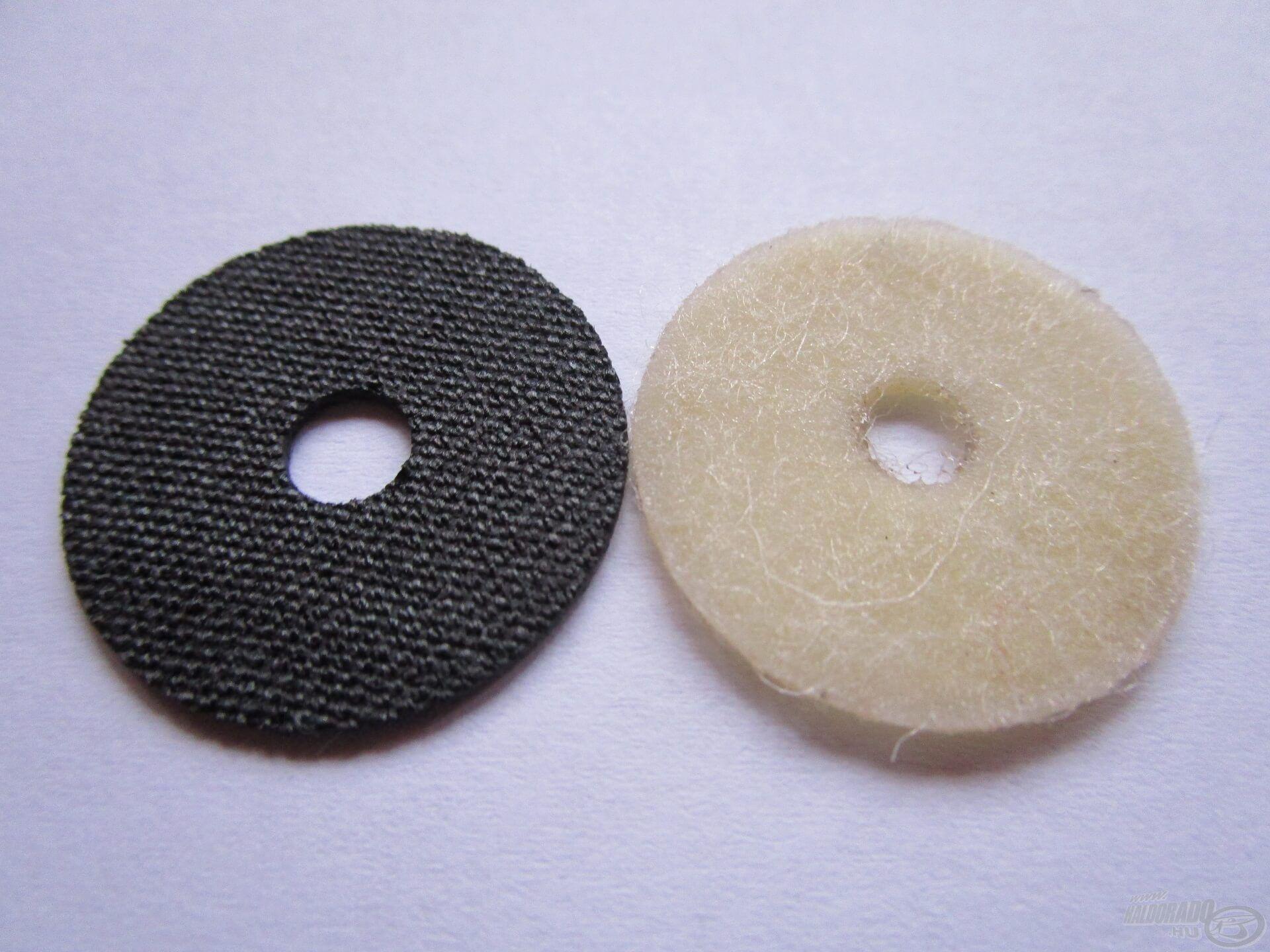 A kevlár féklamellák jóval keményebbek és strapabíróbbak, mint a filcből készült társaik