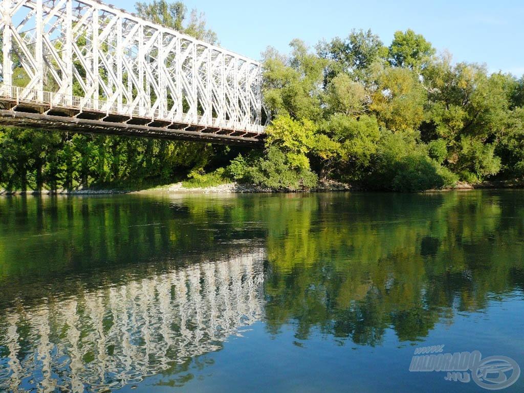 """A """"K"""" híd most csendesebb, mint pár héttel ezelőtt, a Sziget Fesztivál idején"""