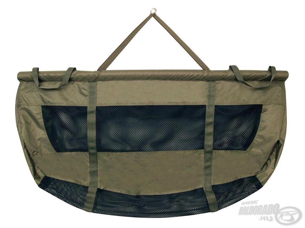 Az úszó FOX Biztonsági mérőzsák mérlegelést és ideiglenes tárolást is lehetővé tevő mérőzsák