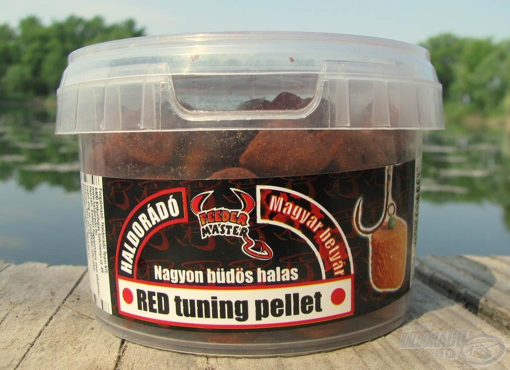 Az idei évtől új ízként a Magyar Betyár egészíti ki Red Tuning Pelletek körét