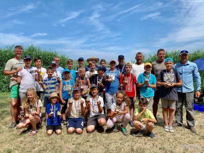 Gyermek horgásztábor Kiskunhalason 2020