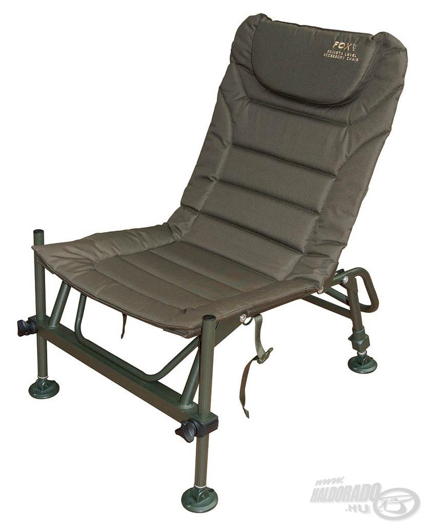 Ez a fotel extrém stabil és erős acélkerettel rendelkezik