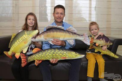 Halas párnák horgászoknak