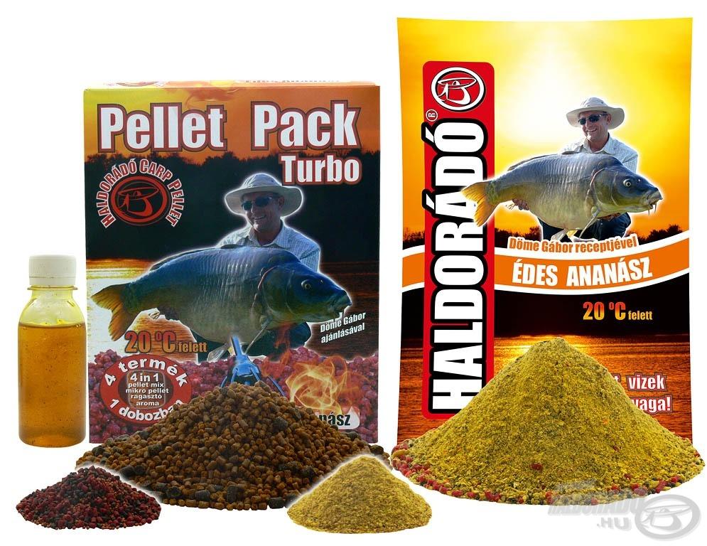 Az Édes Ananász etetőanyag mellett, már Pellet Pack Turbo is kapható ettől az évtől