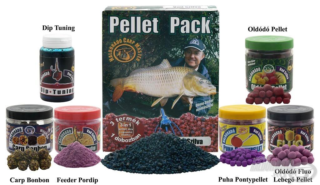 A Vad Szilva család ezzel a hét termékkel válik teljessé, amelyek főként a nagyhalas horgászatok során bizonyították rendkívüli fogósságukat. Kifejezetten ajánlom a kísérletező kedvű horgászok figyelmébe!