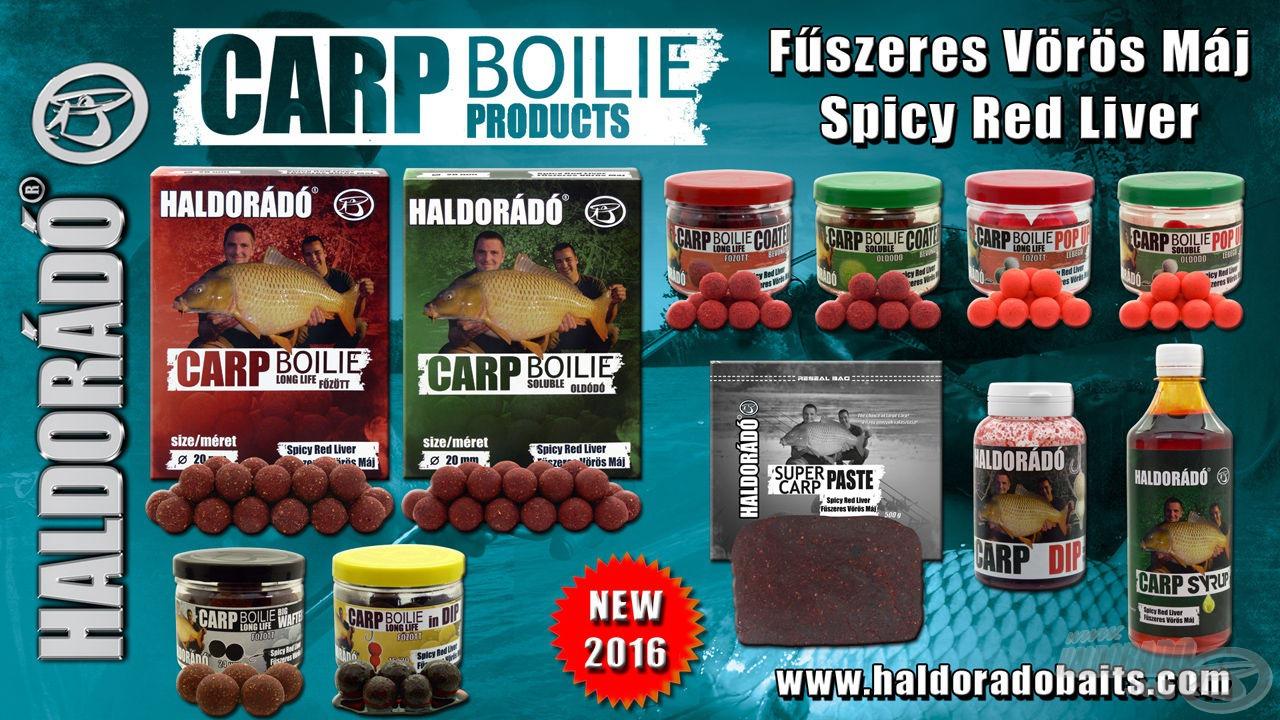Az új Spicy Red Liver termékcsalád