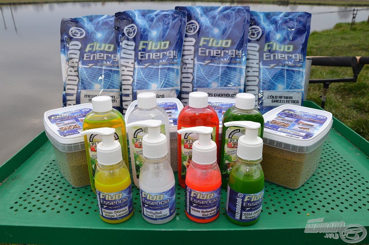 A tavaly forgalomba került Fluo Energy termékcsalád mind a 4 tagja kedvelt lett a hazai feederesek körében