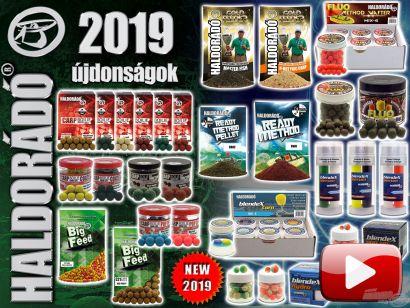 Haldorádó új termékek 2019