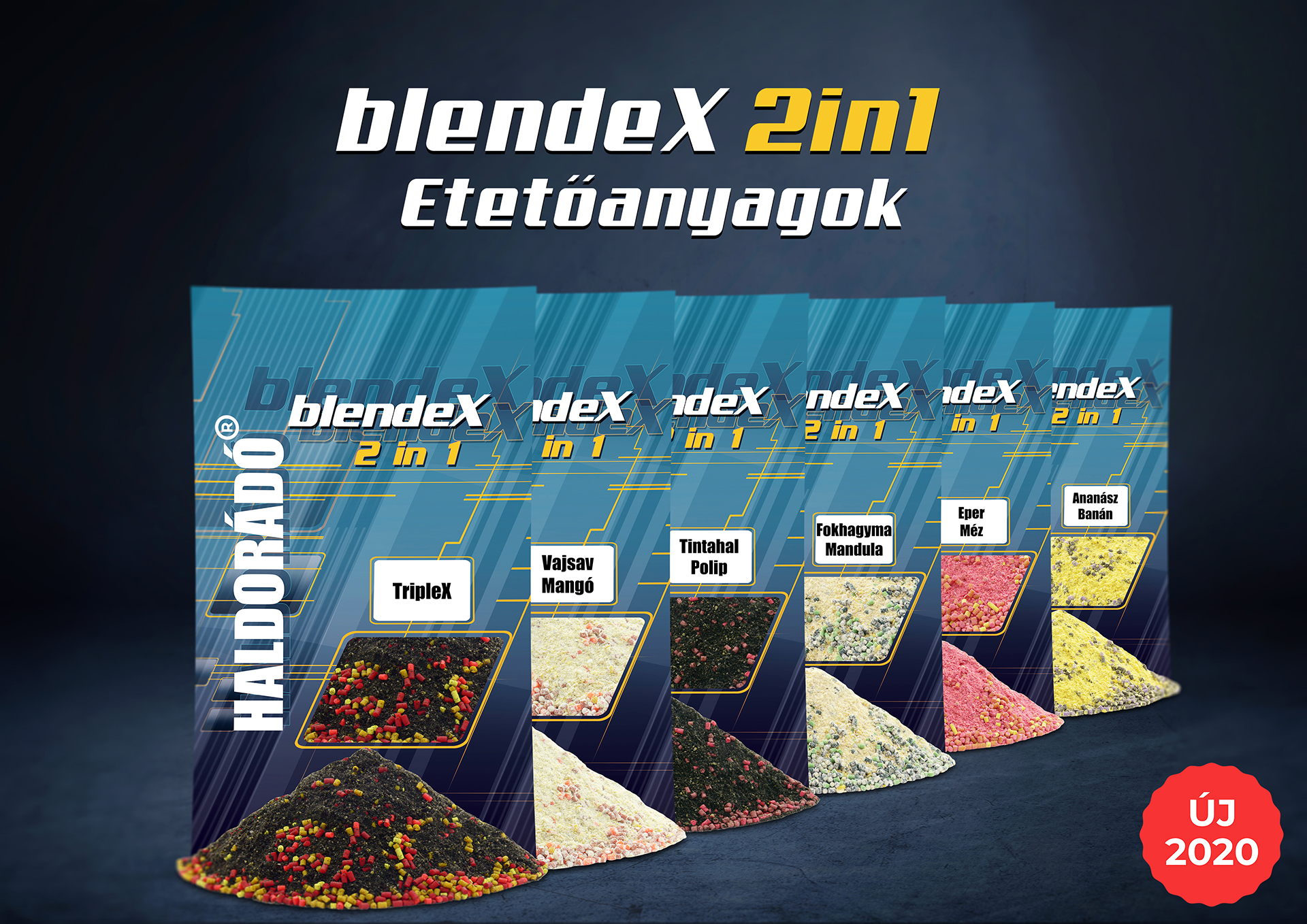 Örömmel mutatom be a BlendeX 2 in 1 etetőanyag családot!